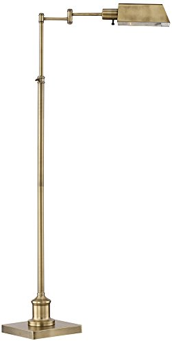 Jenson Aged Brass Pharmacy Floor Lamp Advantages