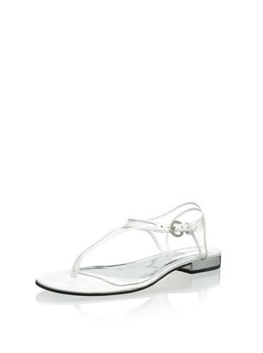 Bernardo Womens Parker Thong Sandal White 7Ga0AG
