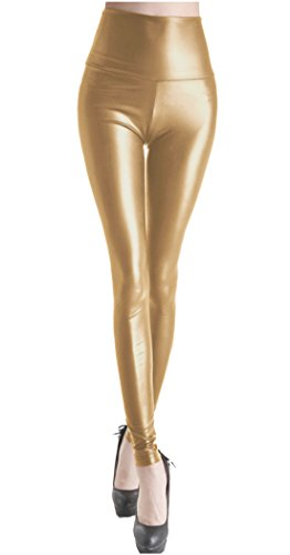lotus-instyle-womens-high-waist-faux-leather-leggings-gold-l