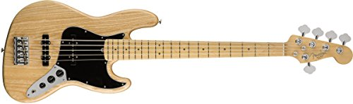 Fender American Professional Jazz Bass V - Natural w/Maple Fingerboard
