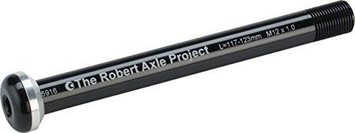 Robert Axle Project 12mm Lightning Bolt Thru Axle - Front - Length: 123mm Thread: 1.0mm (12x100 Specialized)