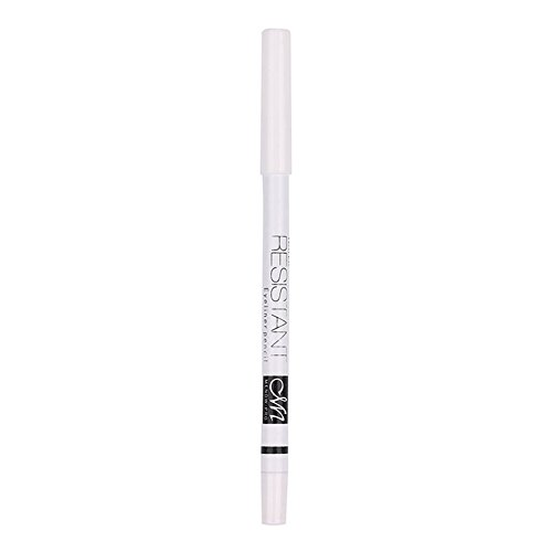 BleuMoo Waterproof Long Lasting Under Eye Brighten White Eyeliner (Eyeliner 1.1g Pencil)