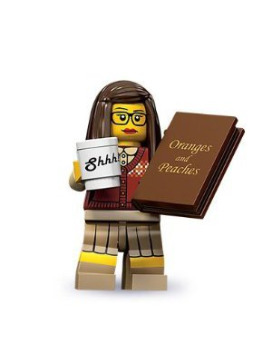Lego 71001 Series 10 Minifigure Librarian, Baby & Kids Zone