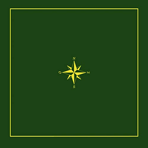 Smir 130006506 Tarot Faux Suede Rug, Green
