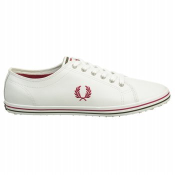 Fred Perry Baskets basses Kingston Blanc NGQKfwdnW