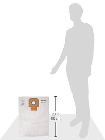Amazon.com: Bosch vb090 F forro polar Filtro Bolsa para uso ...