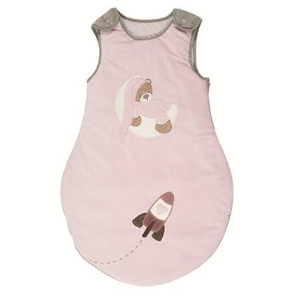 Nattou – Saco de dormir para bebé Rosa 70 cm