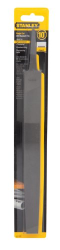 Stanley 22-172 Single Cut Mill Bastard File, 10-Inch (Cut Mill File)