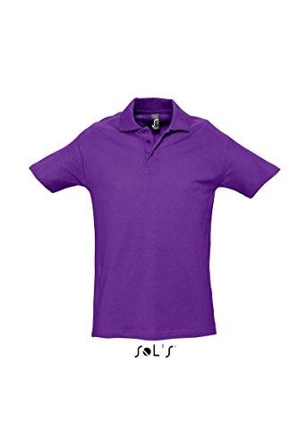 SOL´S Polo Spring II, Größe:XL, Farbe:Dark Purple