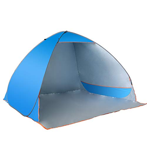 ボタン怪物報酬の完全自動テント、迅速な開口2-3-4人の屋外テント、屋外ビーチバイザーキャンプの外出釣りテント、Nayang Store