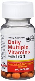 DAILY MULTIPLE VITAMINS compare ESSENTIALS product image