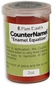 Pam East's Counternamel Red, 2oz