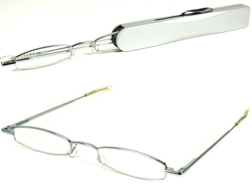 Silver Metal Reading Glasses - 8