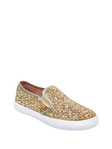 G by GUESS Women's Malden Logo Slip-On Sneakers Gold