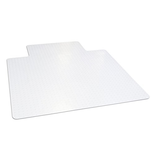 Dimex 45''x 53'' Clear Office Chair Mat with Lip for Low Pile Carpet, Made in The USA, BPA and Phthalate Free, C521001G by Dimex
