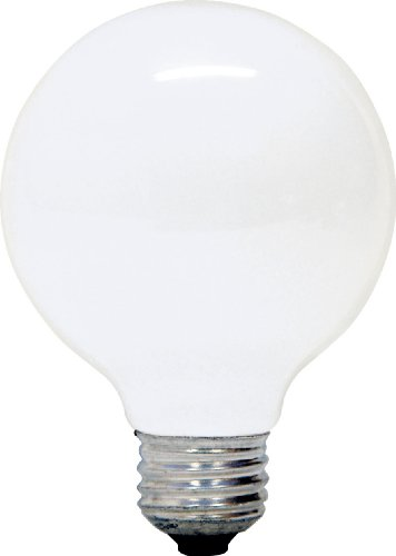 GE Lighting 14848 White Frosted