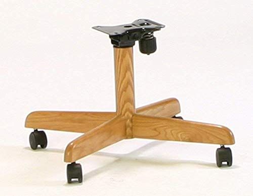 Douglas Compatible Replacement Chair Base for Swivel Tilt Caster Chairs (Set of 2)