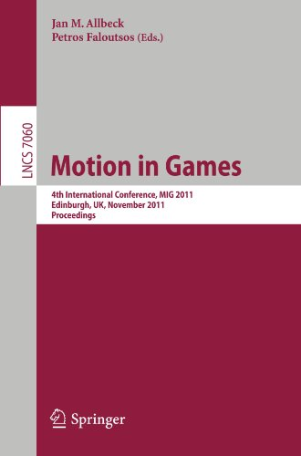 Motion in Games: 4th International Conference, MIG 2011, Edinburgh, United Kingdom, November 13-15, 2011, Proceedings (Lecture Notes in Computer Science)