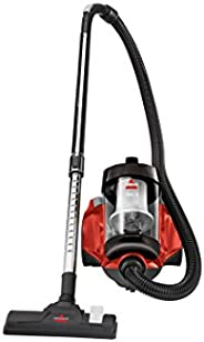 Bissell - Canister Vacuum - Bagless Compact and Lightweight Design - Straight Suction - Automatic Cord Rewind