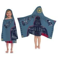 Disney® Star WarsTM Darth Vader Cape-Style Hooded Towel 22