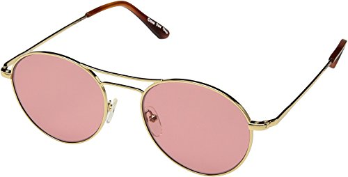 TOMS Unisex Melrose Shiny Gold One - Sunglasses Melrose