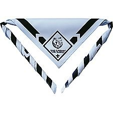 Cub Scout Bear Neckerchief with Slide