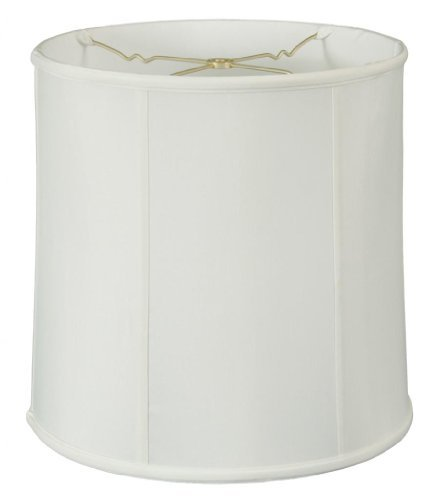 - Royal Designs BS-719-15WH Basic Drum Lamp Shade, 14