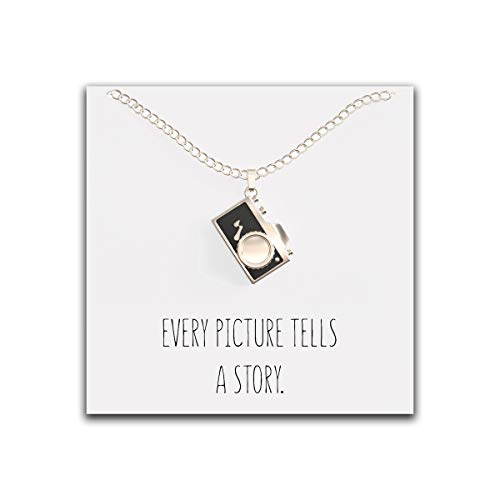 Happy Kisses Camera Necklace Photographers product image