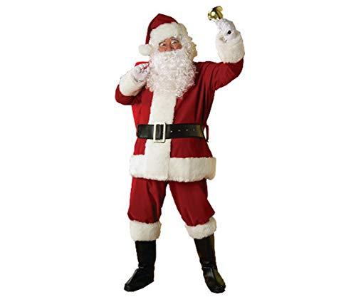 Rubie's Deluxe Regal Santa Claus Suit, Red, Standard