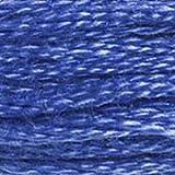 DMC 117-798 6 Strand Embroidery Cotton Floss, Dark