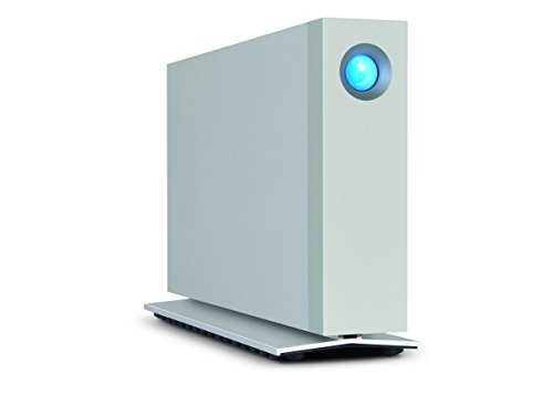 LaCie STEX6000100 D2 Thunderbolt 2, USB 3.0 7200RPM 6TB Desktop external Hard Drive by LaCie