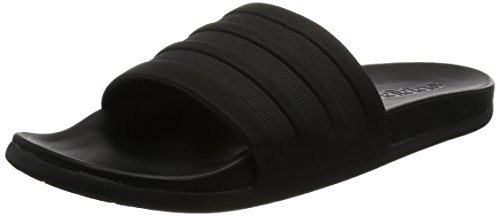 adidas Adilette Comfort, Zapatos de Playa y Piscina Para Mujer Negro (Negbas/Negbas/Negbas 000)