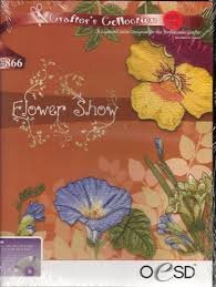 Designs Embroidery Oesd - OESD Embroidery Machine Designs CD #866 FLOWER SHOW
