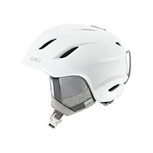 Giro Era Womens Snow Helmet Pearl White MD 55.5–59cm