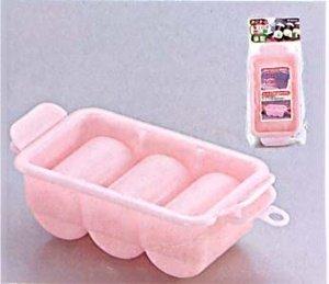 1 X Sushi Press Nigiri Rice Mold Maker 3 Rolls Pink #0534