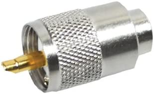 RA132SOLDERLESS Vergoldeter PL259-Stecker zur l/ötfreien Verbindung