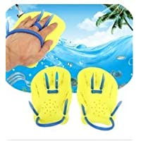 CC*CD Webbed Gloves Diving Flippers Swimming Fins Hand Training Glove Adult (Size:M)