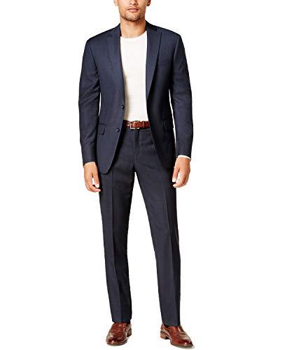 - DKNY Men's Slim-Fit Birdseye Suit (Blue, 48 Regular)