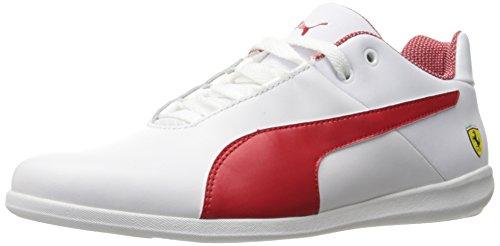PUMA Men's SF Future Cat Casual Walking Shoe Rosso Corsa White, 6 M US (Cat Puma Casual Future)