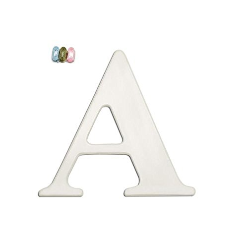 Babies R Us By Design White Wall Letter A