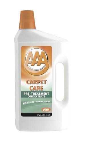 Vax AAA - Liquido quitamanchas concentrado para alfombras y moqueta (1 L)