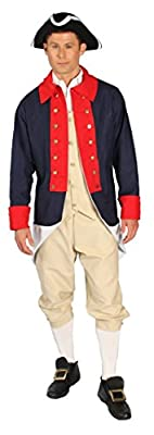 Alexanders Costumes Men's Revolutionary Solider