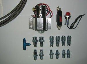 AUTO STAFF(オートスタッフ) ラインロックキット 1-1TYPE マスター側1本、キャリパー側1本 [AS-LLK1] B07CH29X5K
