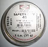 Safety-Silv 45 - Bare And Flux Coated