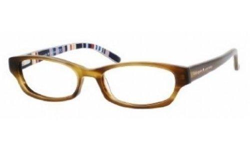 Kate Spade Rx Eyeglasses - Twyla Blonde Tortoise 50mm / Frame only with demo - Eyeglass Lenses Only