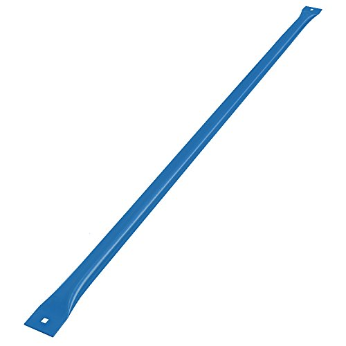 Kennedy Series Adjustable Painted Footrest, 36'' Length, Blue by BenchPro
