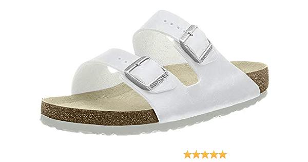 Birkenstock Arizona White Mens Sandals