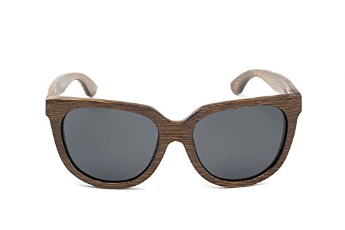 Swell Vision Womens Brown Bamboo Olalla Sunglasses with ...