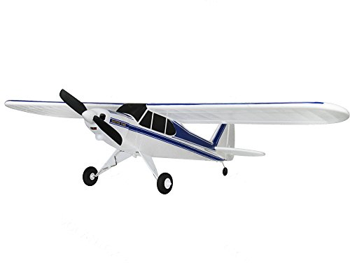 "Super Cub 2.4Ghz RTF RC Airplane 30"" Wingspan 3CH Beginner Sports Plane Remote Control Brushed Piper J-3 Trainer Flight"