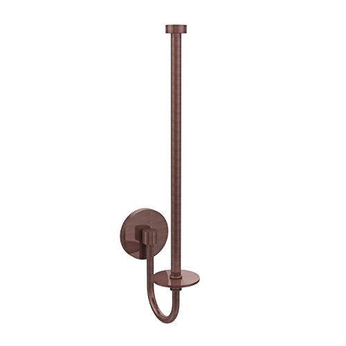 Allied Brass 1025U-CA Skyline Collection Wall Mounted Paper Towel Holder, Antique Copper
